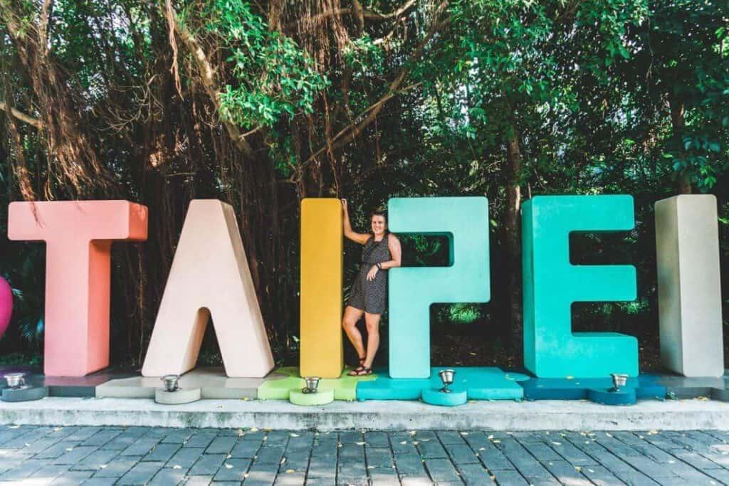 Stephanie in Taipei