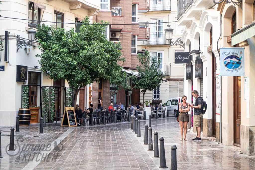 Terras hoppen Valencia