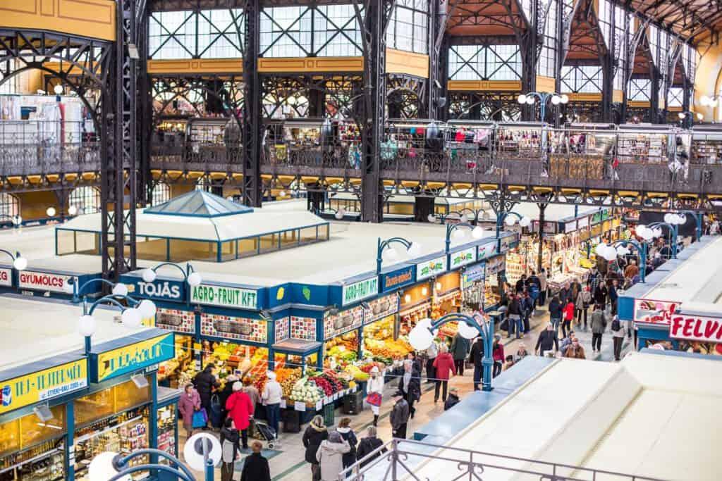 Markthal Boedapest