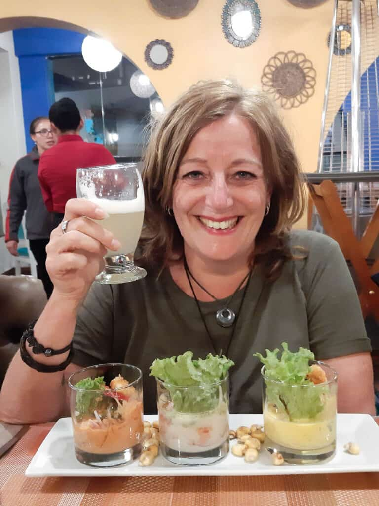 Charlotte in Peru