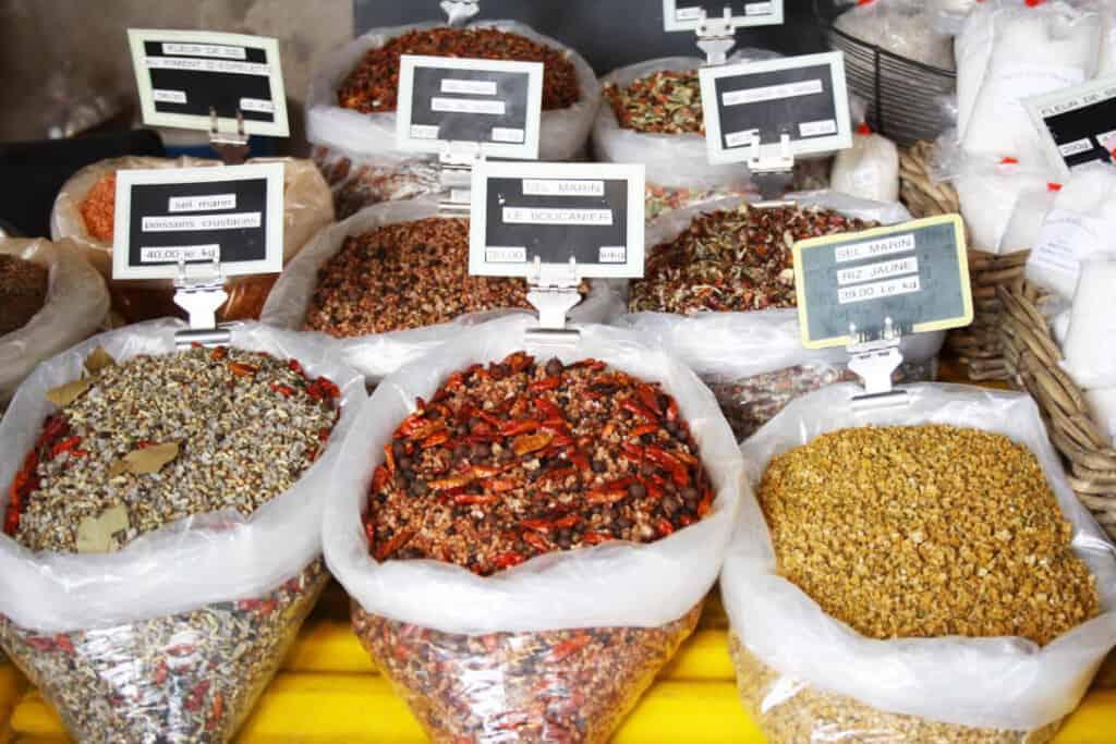 Markt van La flotte