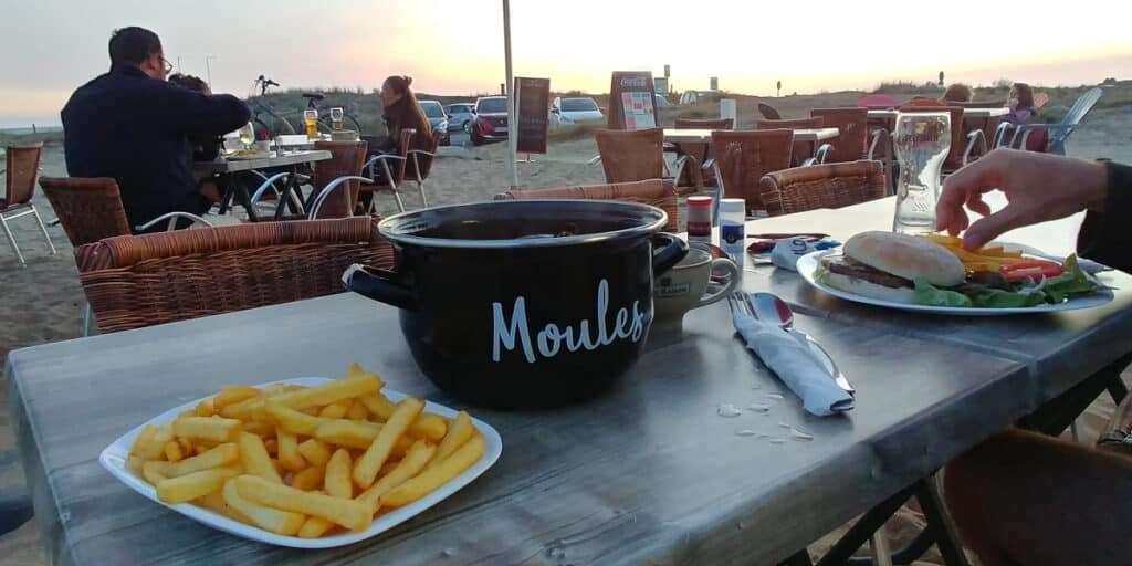 Bretagne patat met uitzicht
