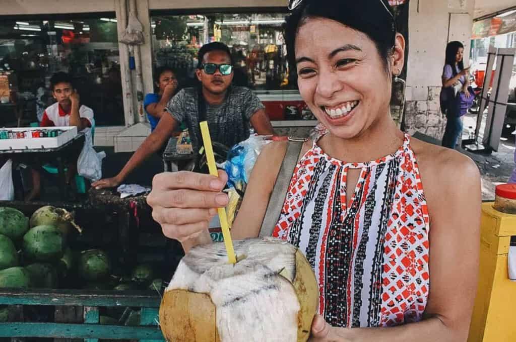 Buko streetfood filipijnen